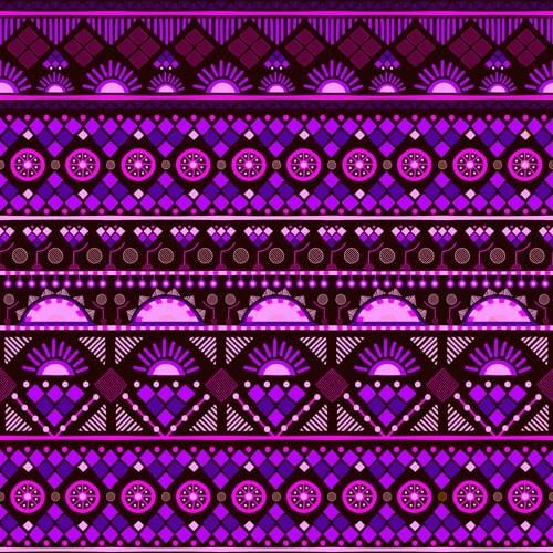 AOSSY-afrique-motif-rose/violet