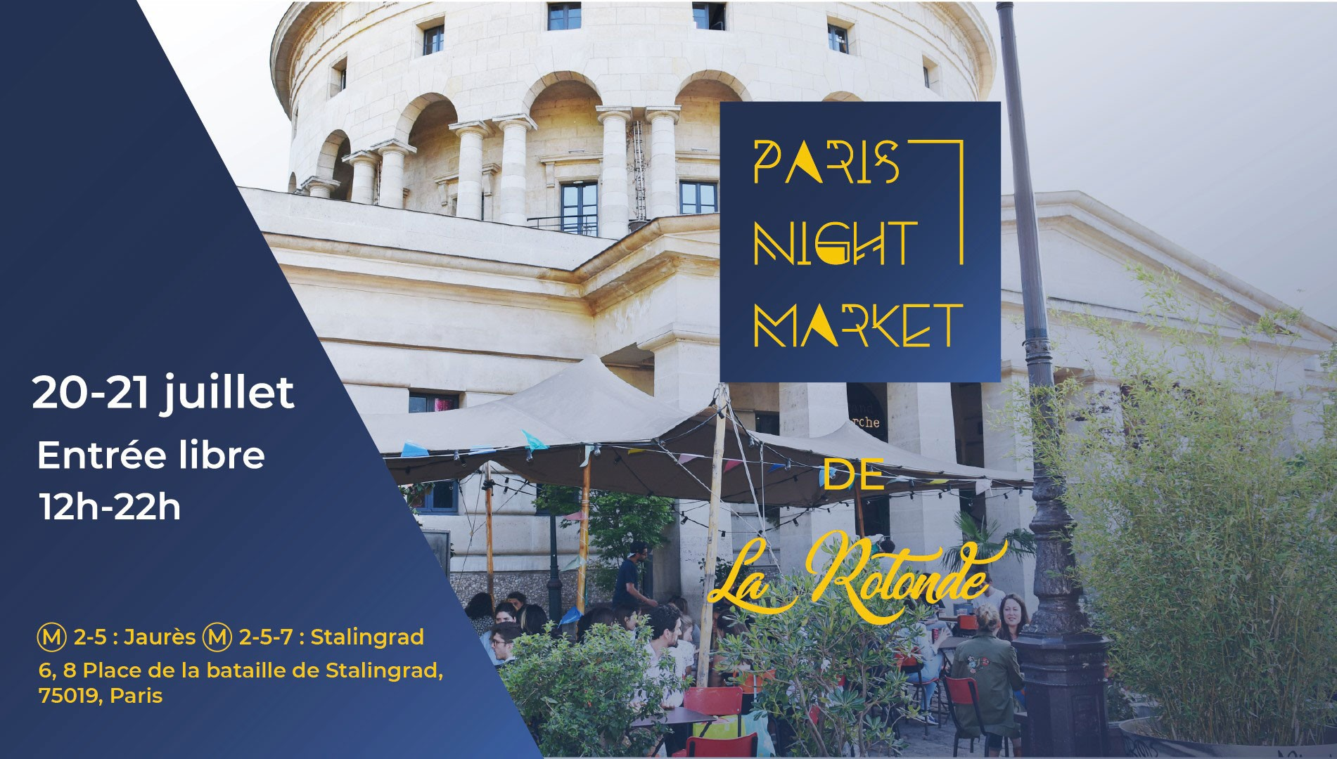 Night Market de La Rotonde