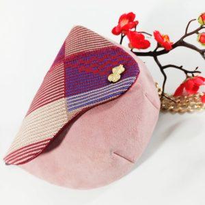 AossyParis - Béatrice Monné - Création -sac banane YAYA - rose poudré